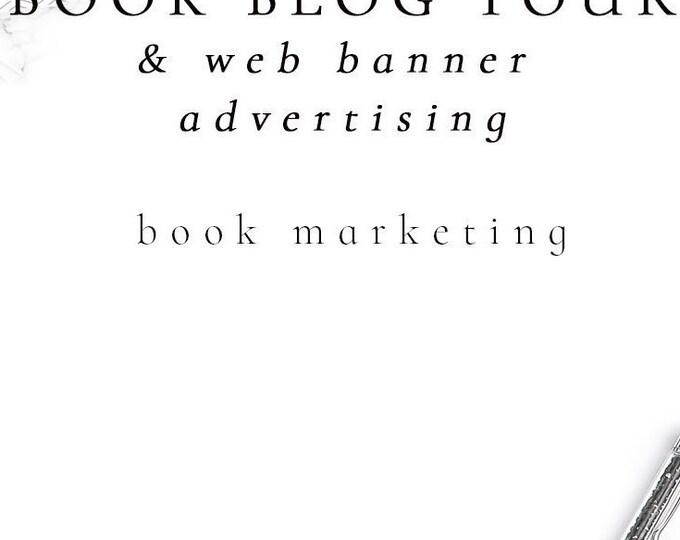 Book Blog Tour & Web Banner Advertising