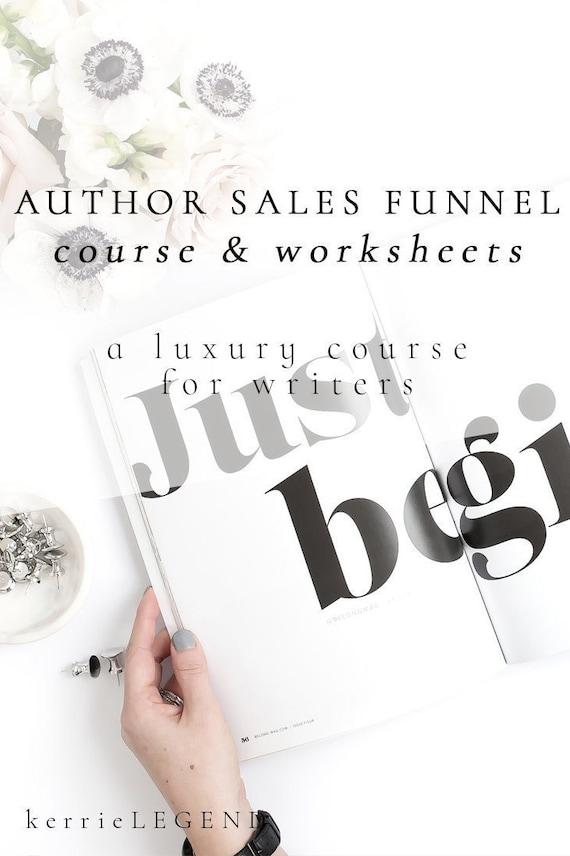 Author Sales Funnel Course