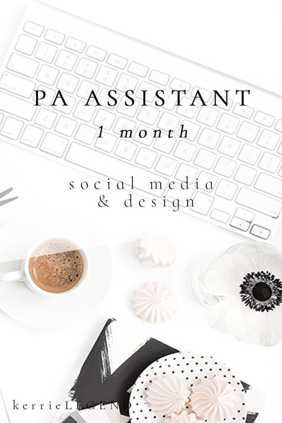 PA Assistant - Social Media Marketing Plan for Authors | Design for Authors | Book Marketing | 1 Month