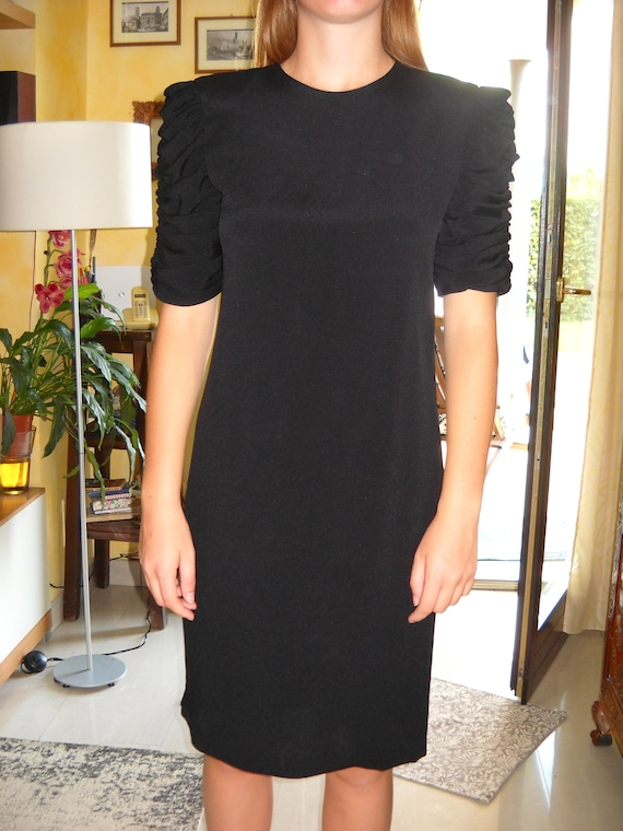 Elegant black DARCY dress