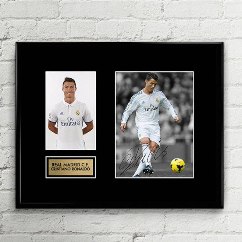 1a4cfb498 Cristiano Ronaldo Signed Poster Art Print Artwork Real