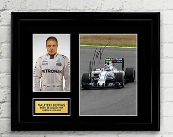 Valtteri Bottas - Mercedes AMG Petronas - Formula One F1 Autograph Signed Poster Art Print Artwork