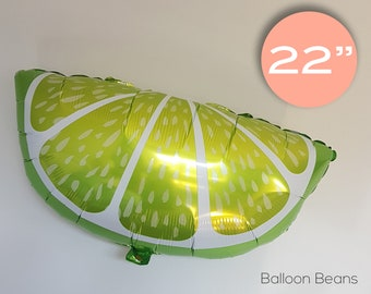 """Lime Slices Balloon 