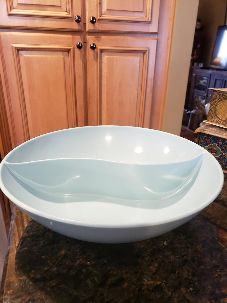 Vintage Windsor Melmac 2 Compartment Bowl
