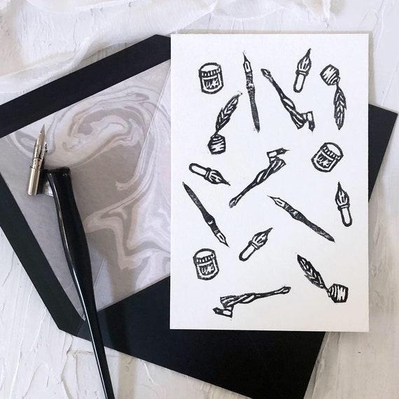 Calligraphy Tools Print