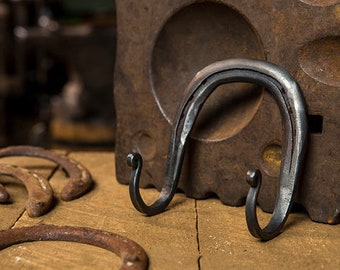Horseshoe Hook // Double Horseshoe Hook // Coat Hook // Tack Hook