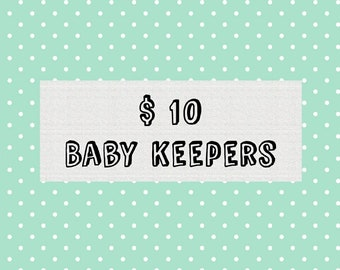 Sale baby keepers