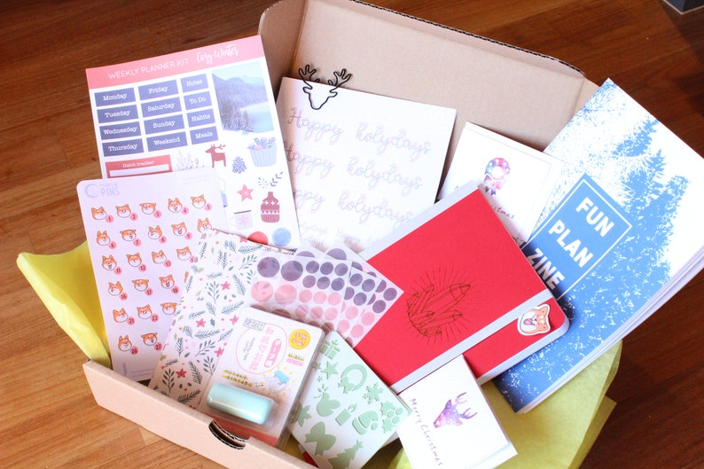 Box de Bullet Journal et  planner thème de Noël  Coffret de image 3