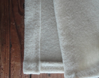 heavy wool BLANKET / THROW, hand made from firm organic wool fabric in different colors // eco, sustainable