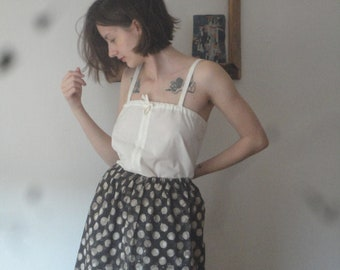 OUTFIT 9 // summer 2020: simple cotton skirt + organic cotton top