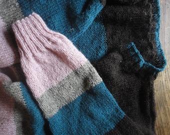 WOOL, SILK / knits