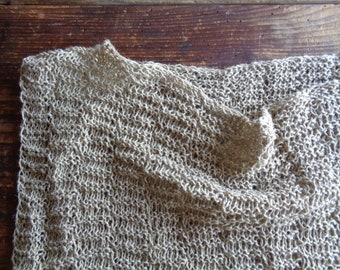 knitted hemp - cotton TOP / TEE / DRESS (without), knitted from very soft cotton-hemp mix in different colors