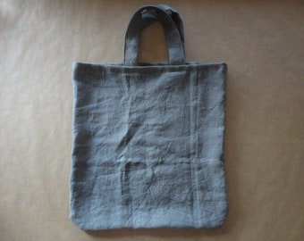 linen TOTE / SHOPPER / MARKET bag _ wide, hand-made from heavy weight linen in different colors