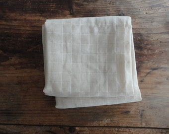 organic cotton DIAPERS _ washable, eco, reusable, handmade from organic cotton gauze
