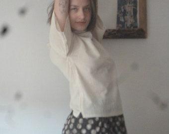 OUTFIT 11 // summer 2020: simple cotton skirt + soft linen top