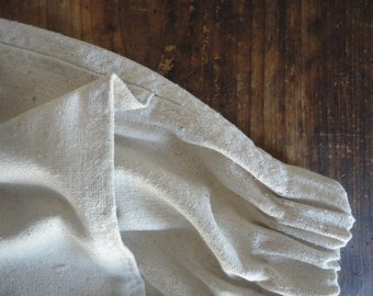 heavy raw / wild silk SKIRT (short, midi, long), made from heavy a bit rough wild - raw silk in off white/beige // with pocket or without