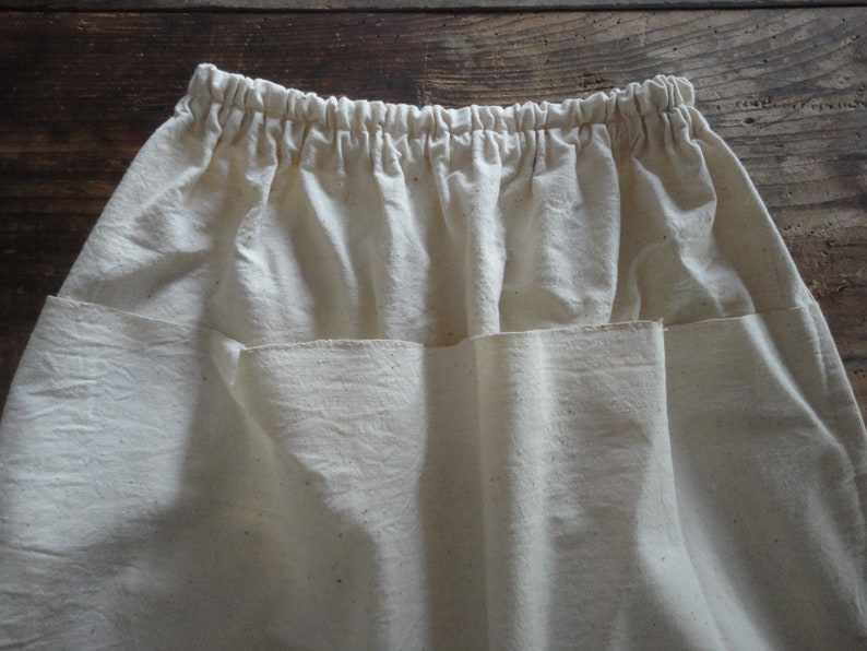 d1bcd311c Simple RAW COTTON skirt short midi long with front or back   Etsy