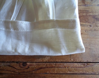 soft hemp SHOPPER / MARKET BAG / tote, hand-made from soft heavy hemp in natural or creme