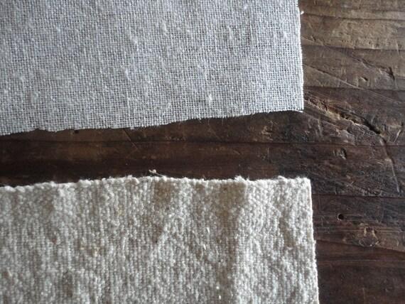 raw / wild SILK in different weights / qualities (gauze, rough, soft, jersey) _ fabric by yard // MALAfabrics