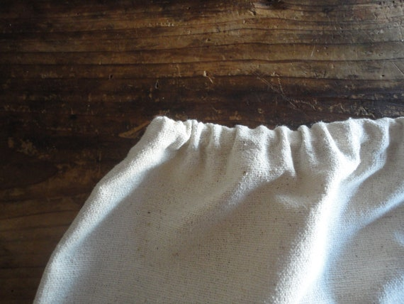 simple raw / wild silk SKIRT (short, midi, long), handmade from heavy rough wild - raw silk in off white/beige // with pockets or without