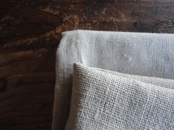 organic linen DUVET / PILLOW (envelope or ties) / SHEET (flat or fitted), handmade from midi or heavy weight organic linen in natural color