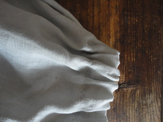 heavy linen SKIRT (short, midi, long / with pockets or without ), handmade from heavy linen in natural, white or other color
