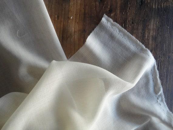 natural WOOL fabrics _ fabric by yard (gauze, muslin, satin, heavy and natural or colored merino jersey) // MALAfabrics