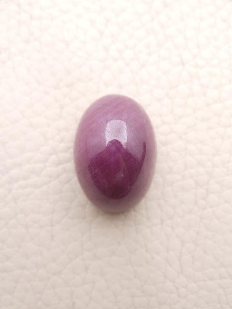 Ruby Gemstone Cabochon-Ruby Cabochons-Natural Ruby Smooth Oval Cabochon-20.5x14.5x12 MM-Loose Gemstone-High Quality-Wholesalegems #W13790