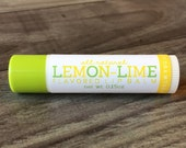 LEMON-LIME Lip Balm - All Natural - Homemade