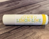 JUMBO Lemon-Lime Lip Balm - All Natural - Handmade