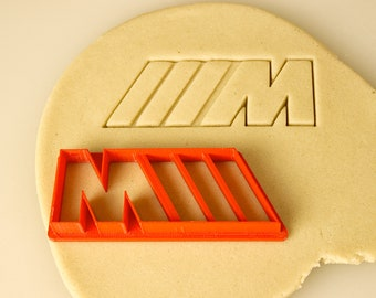 BMW Motorsports M ///M Badge Cookie Cutter