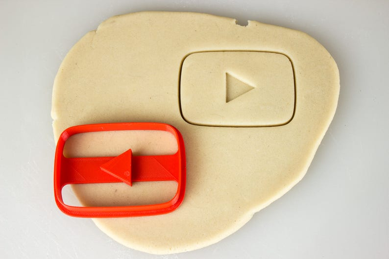 4c5776ca8a YouTube Play Button Creators Cookie Cutter