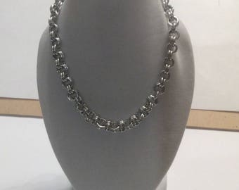 Sale!!2-2 necklace chain maille HANDMADE WITH LOVE