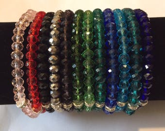 Sale!!  Fun stretchy bracelet 2/for 5 / or 8 for 21