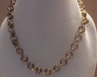 Necklace 2-1 Chainmaille  HANDMADE