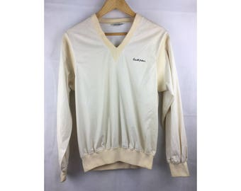 ARNOLD PALMER Medium Size Windbreaker Sweater Sportwear with Small Embroidered Logo