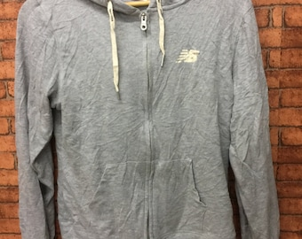 NEW BALANCE Long Sleeve Hoodies Fully Zipper LL Smpai ze for Kids and Small Size for Adult