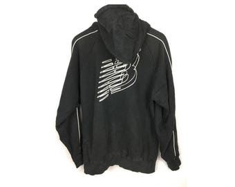 NEW BALANCE Long Sleeve Hoodies Large Size With Big Logo at Back Fully Zipper