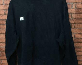 REEBOK Long Sleve Sweatshirt Pull Over Large Size Sportwear Nightwear