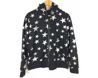 Nice Design Full Print of Star Hoodies Jackets Long Sleeve Hip Hop Style