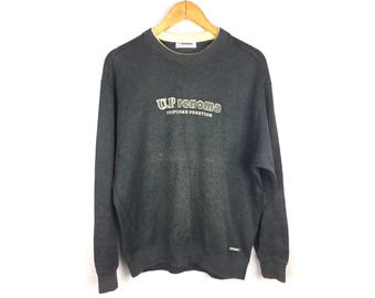 UP RENOMA Uniforme Prestige Sweatshirt Large Size Spell Out Logo