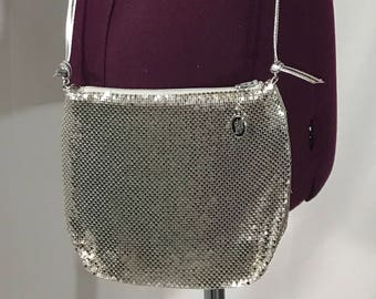 1980's | Whiting and Davis | Vintage crossbody purse