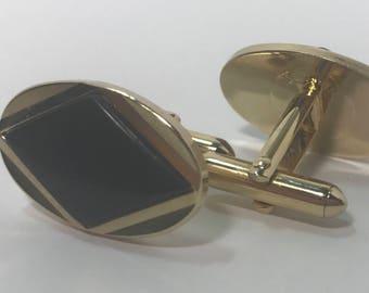 Vintage Oval Cuff Links