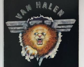 1982   Van Halen Live   Tour Book   rare   paperback book