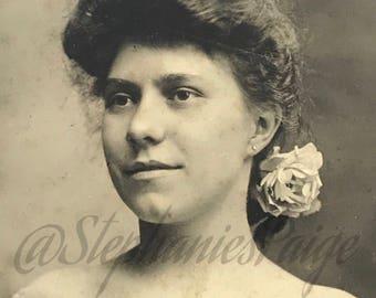1910's | Portrait of a Woman | black & white photograph