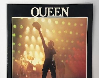 1980's   Queen U.S. Tour Program   vintage Queen