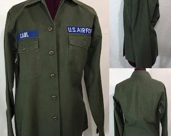 1970's | U.S. Air Force | Cotton Shirt