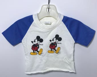 1990's | Mickey Mouse | Baby Boys Shirt