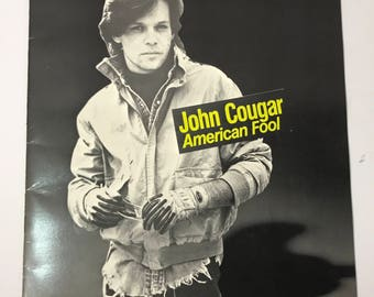 1982 | John Cougar | American Fool Tour Book