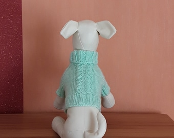 Knitted Small Dog sweater Chihuahua sweater